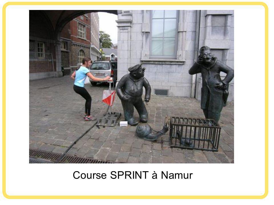 Course SPRINT à Namur