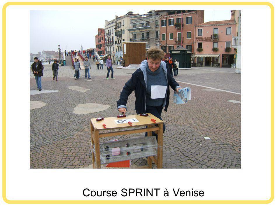 Course SPRINT à Venise