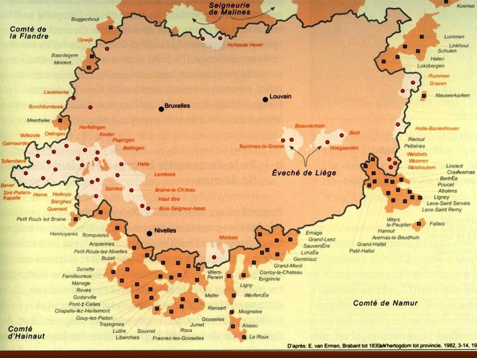 Deux cents ans après le découpage français, en 1996, la Belgique se fédéralisant, le Brabant bilingue fut divisé selon la frontière linguistique.