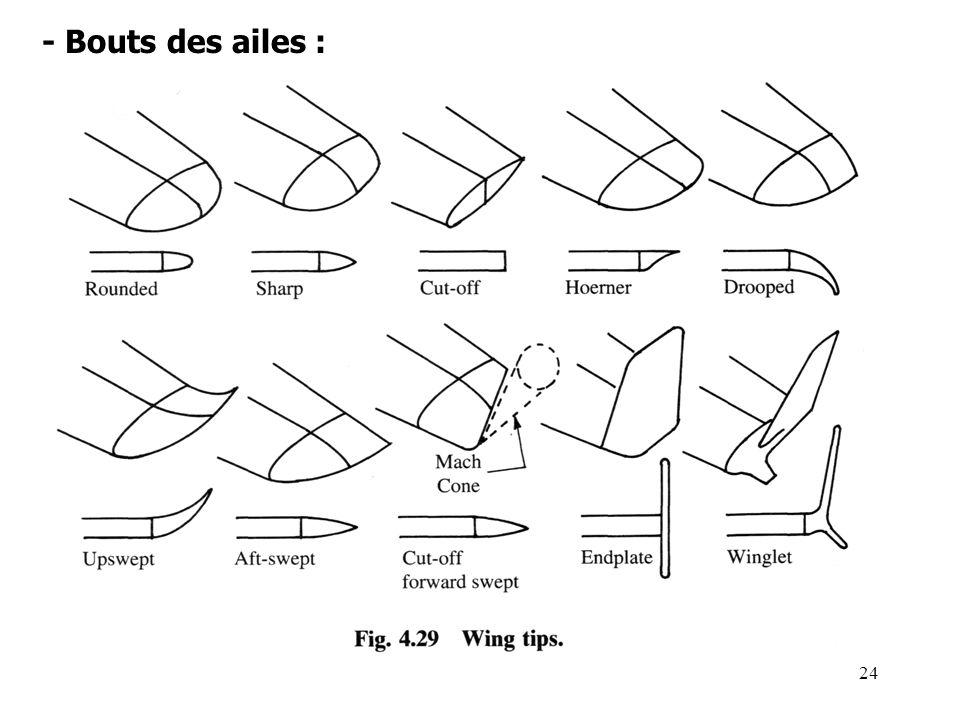 24 - Bouts des ailes :