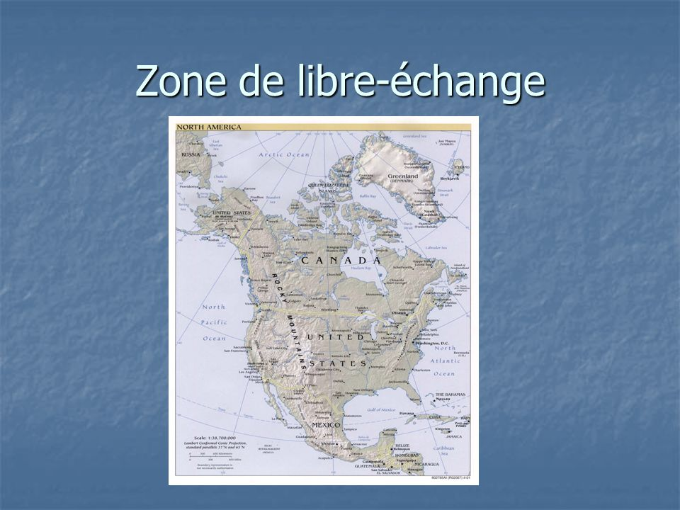 Zone de libre-échange