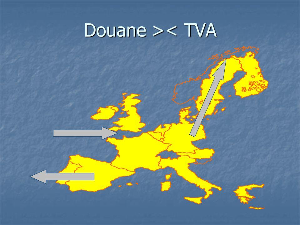Douane > < TVA