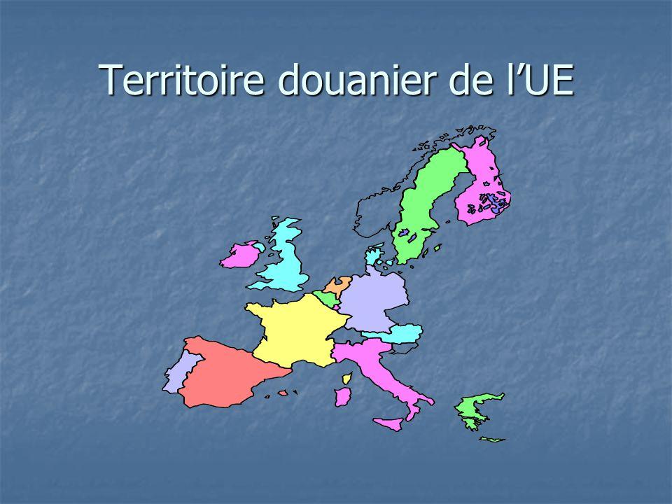 Territoire douanier de lUE