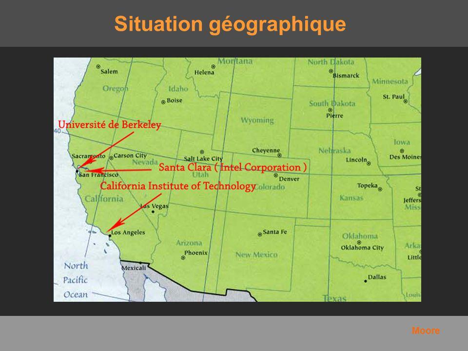 Situation géographique Moore