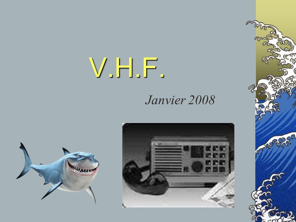 V.H.F. : Ondes Radio Usage dun émetteur Types et procédures dappels