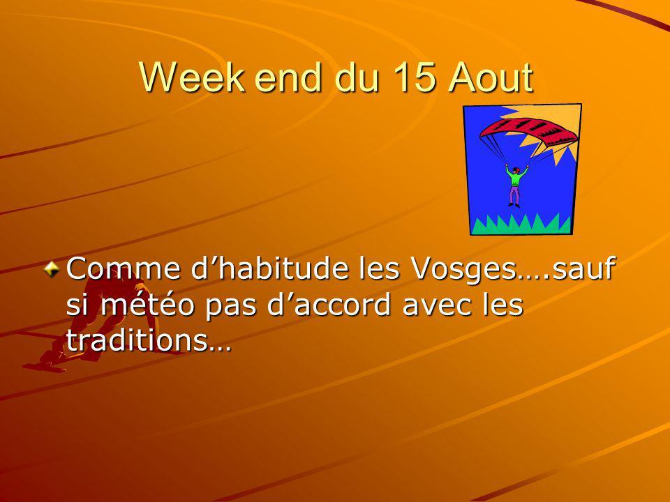 Semaine vacances dété Deux semaines différentes sont proposées Semaine du 16 au 23 Juillet Semaine du 23 au 30 Juillet Notre destination sera du jamais vu pour la plupart (+/- 900 km) dépaysement garanti…..