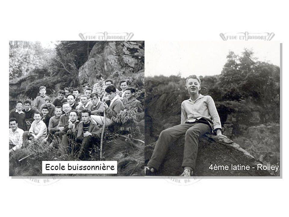 4e A, 1960-61, classe de l'abbé Bernard LAMBERT
