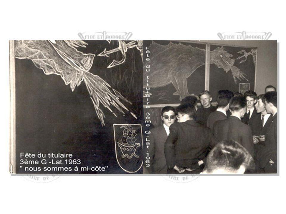 3e A, 1961-62, classe de l'abbé Georges DEVIGNON