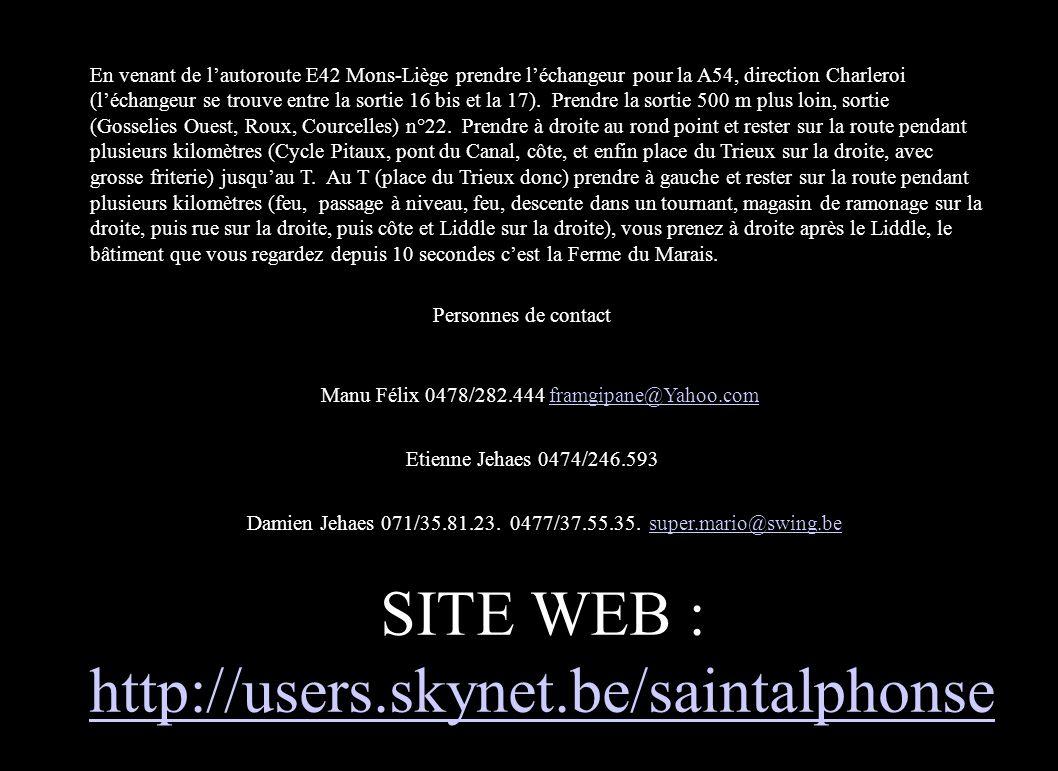 13 mai 2004 Les 5 se contactent, pas de nouvelle du ligurien.