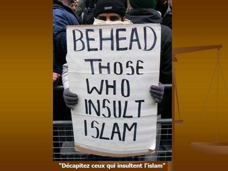 Exterminez ceux qui calomnient l islam Europe tu vas payer, ton extermination est en route Envoyez à la boucherie ceux qui raillent l islam