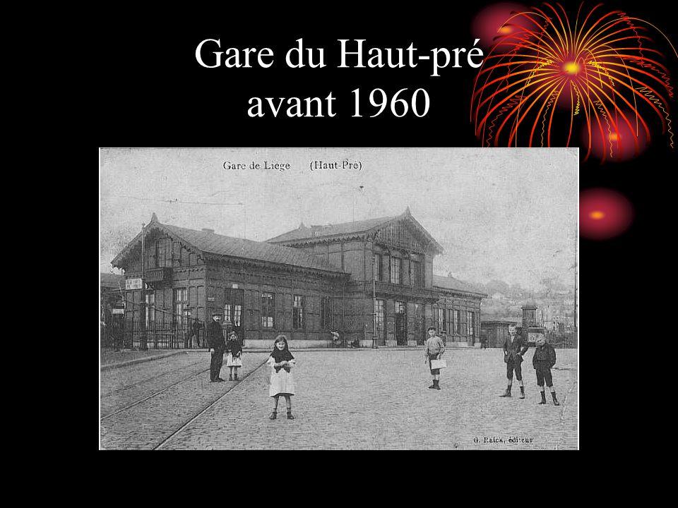 Gare du Haut-pré avant 1960