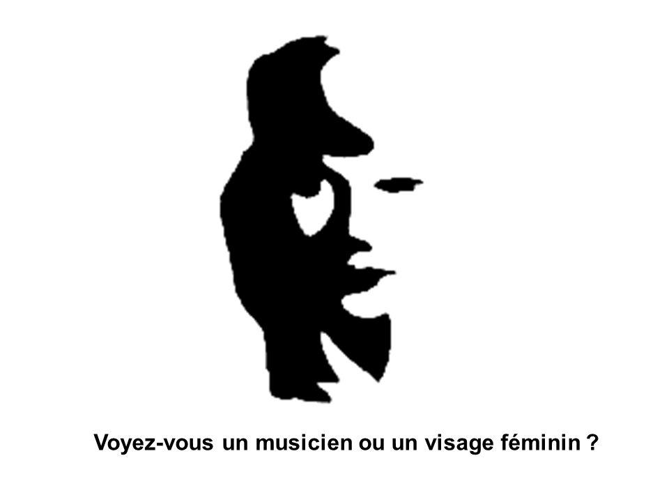 Voyez-vous un musicien ou un visage féminin ?