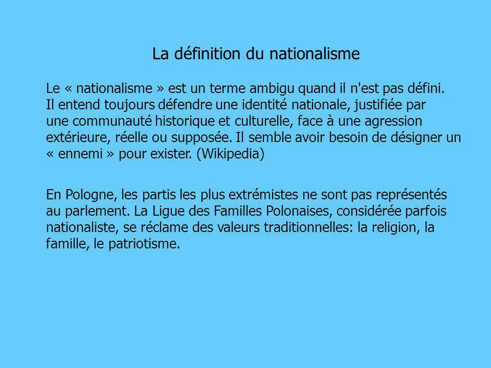 les dangers intérieurs: - le nationalisme - le populisme - la corruption le danger extérieur: - le terrorisme