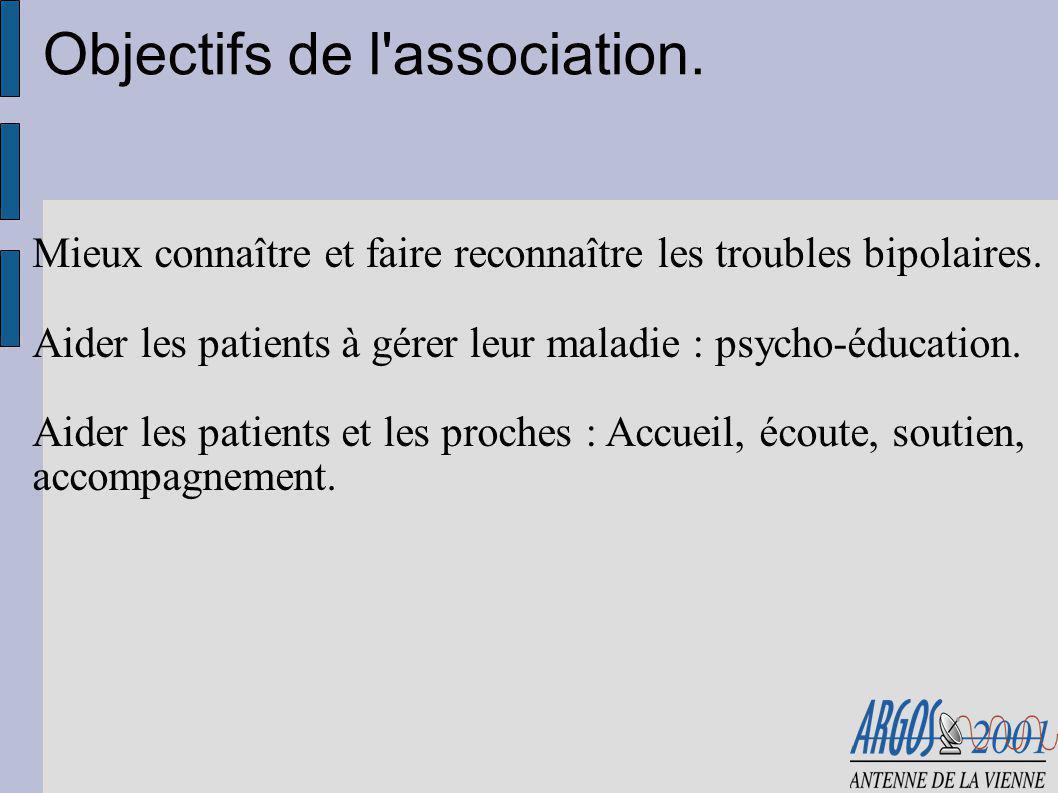 Association nationale.Crée en 2001 à l initiative de patients et de proches.