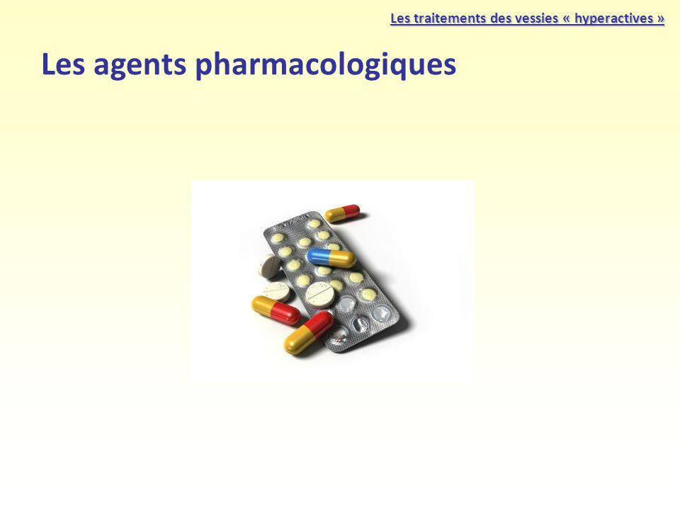 Les agents pharmacologiques Les traitements des vessies « hyperactives »