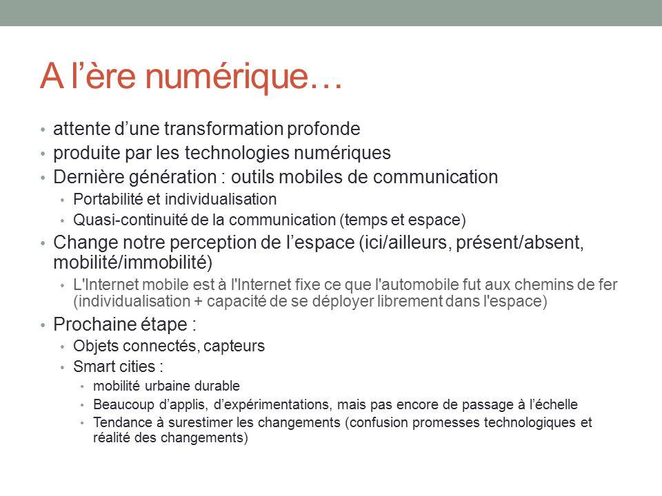 Phase 2 : incitations & mesures Application Mobidix Auto-mesure : impact du feedback individuel des actions puis de la comparaison aux autres Appartenance à un groupe : impact de lappartenance à un groupe puis de la compétition intergroupe Monétarisation des actions : motivations extrinsèques / intrinsèques