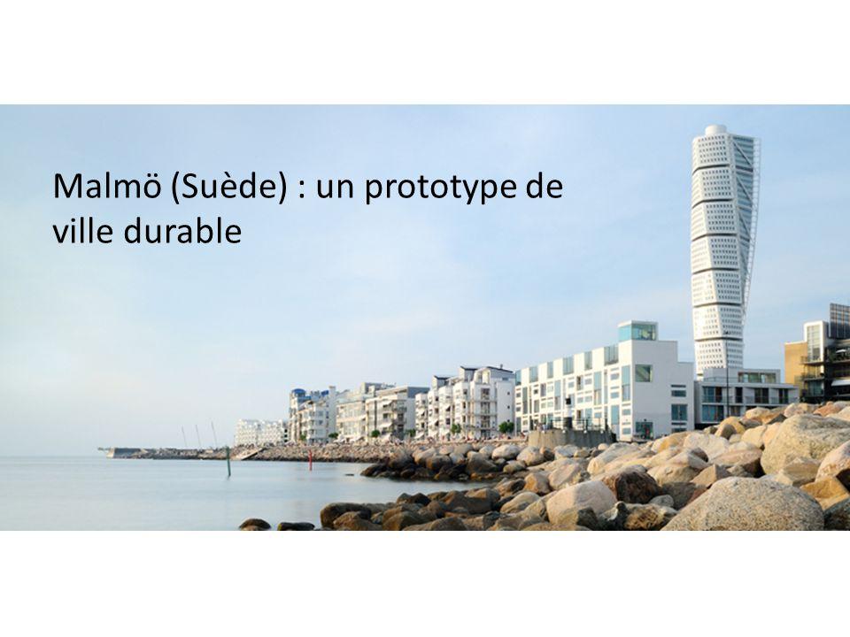 Malmö (Suède) : un prototype de ville durable