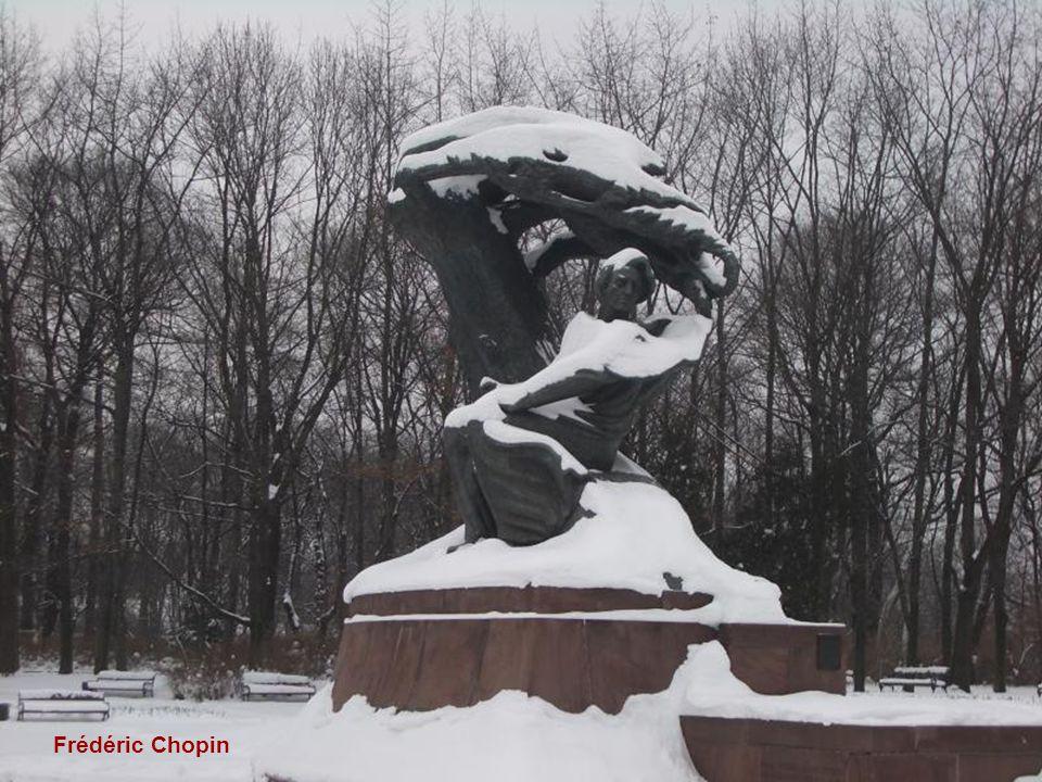 dans le parc Lazienki