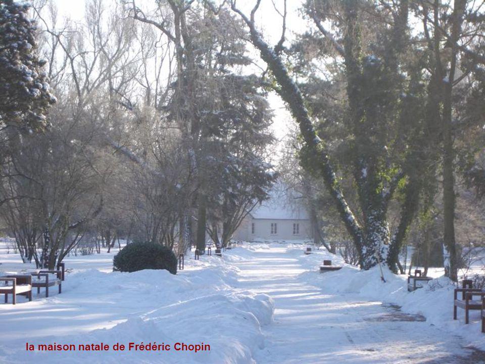 Zelazowa Wola le village natal de Frédéric Chopin