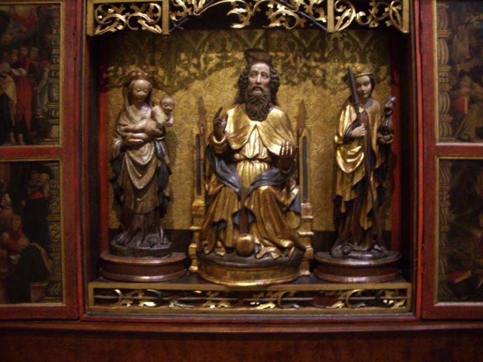 Sainte Anne, la Vierge et Jésus