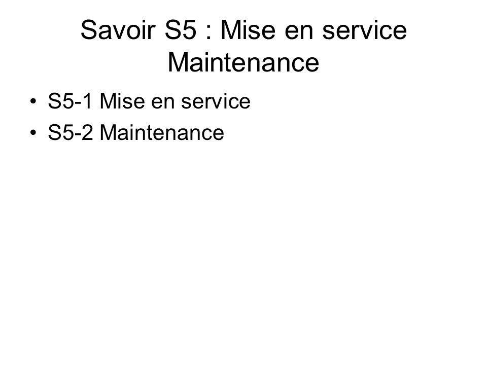 Savoir S6 : Qualité, sécurité et réglementation ce S6-1 La démarche qualité S6-2 Habilitation électrique S6-3 Prévention des risques professionnels S6-4 Textes et règlements