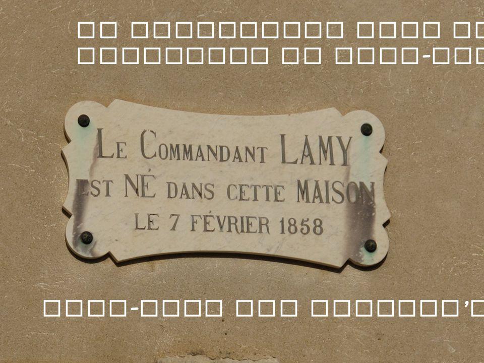 Le Commandant Lamy est le fondateur de Fort - Lamy Fort - Lamy est aujourd hui N Djamena