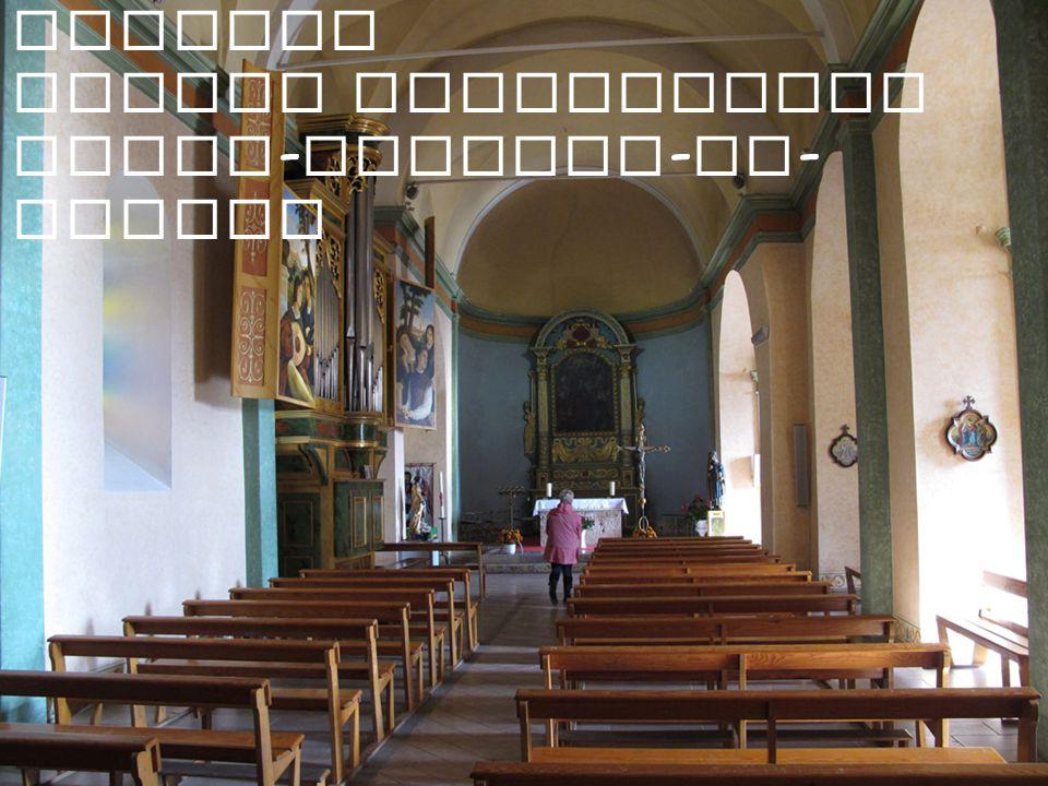 Mougins Eglise paroissiale Saint - Jacques - le - Majeur