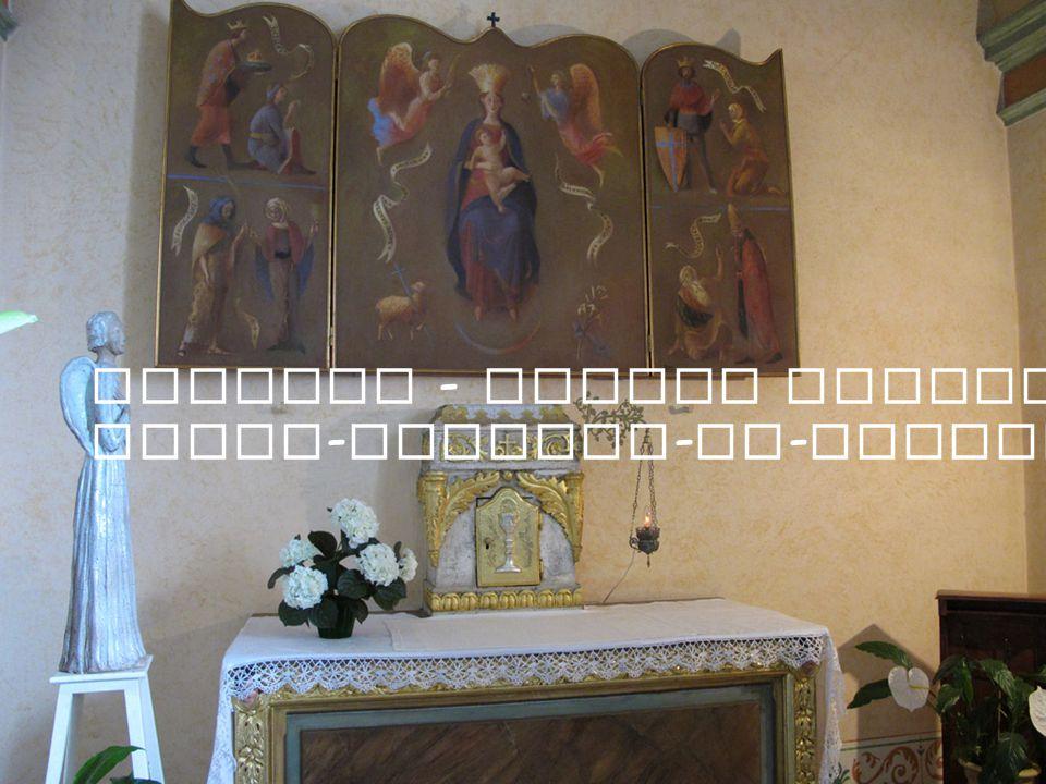 Mougins - Eglise paroissiale Saint - Jacques - le - Majeur - Chapelle