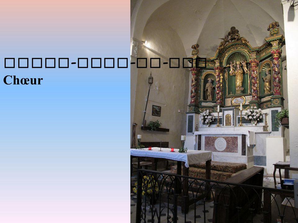 Notre - Dame - de - Vie Chœur