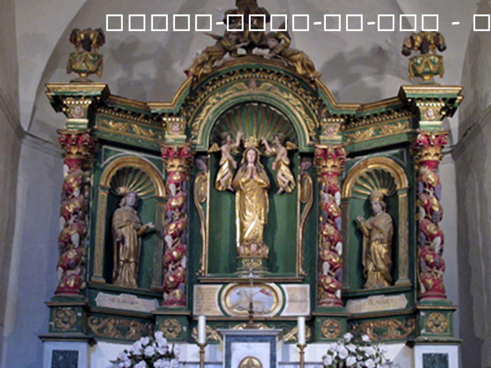 Notre - Dame - de - Vie - Autel