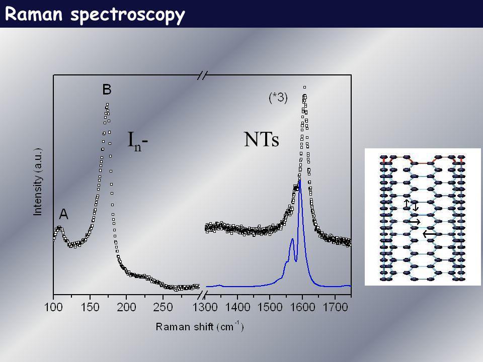 Raman spectroscopy In-In-NTs