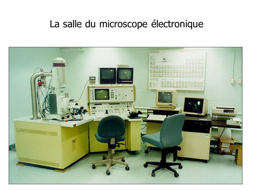 La salle du microscope électronique