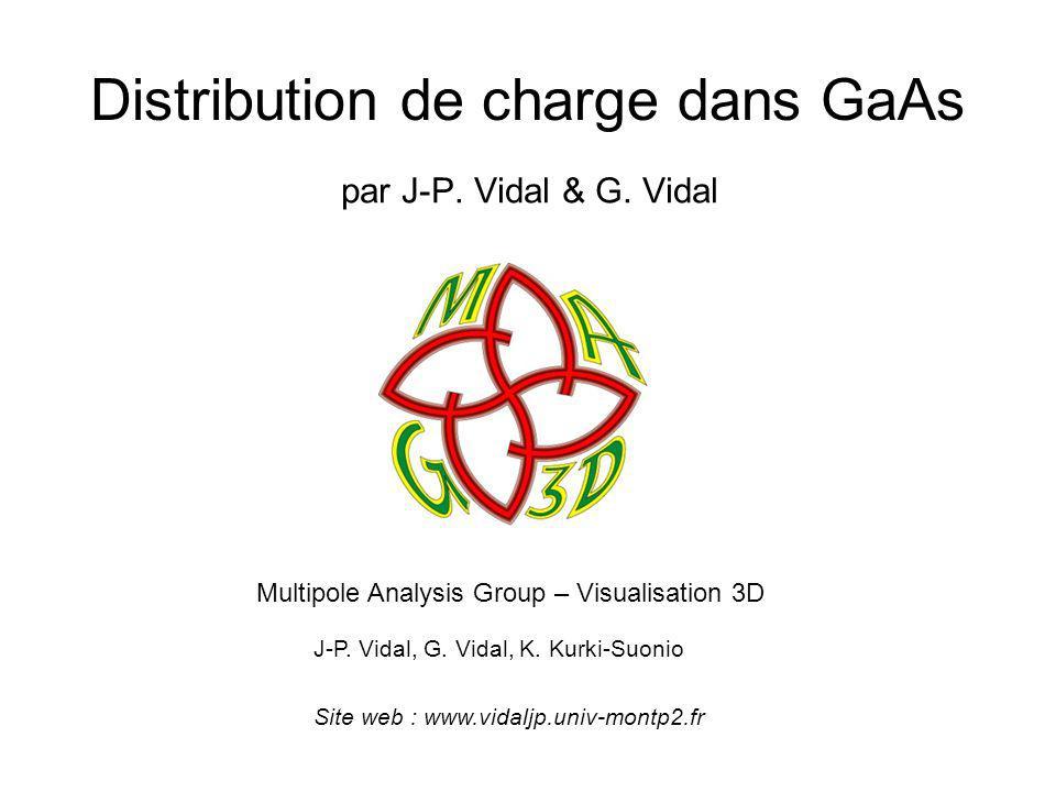 Distribution de charge dans GaAs par J-P.Vidal & G.
