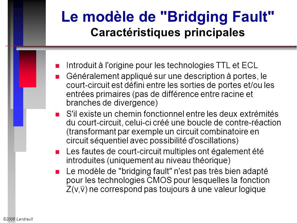 ©2008 Landrault Le modèle de