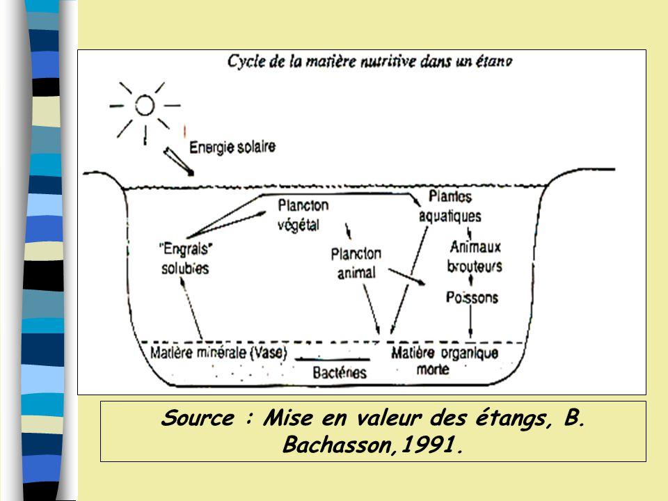 Stade pionniers : Climax : Représentation des successions dans les petits lacs du centre de l Amérique du Nord, du stade pionniers au climax.