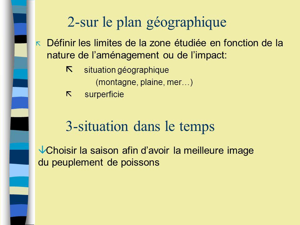 Zonation verticale du Lac Pavin en fonction de six critères