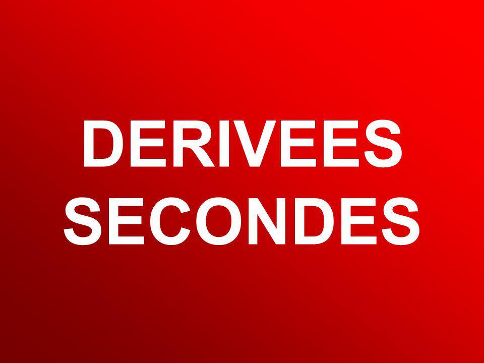 MD Calcul Scientifique 59 DERIVEES SECONDES