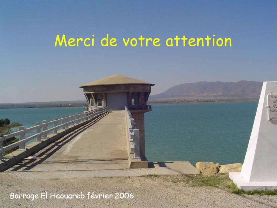 Merci de votre attention Barrage El Haouareb février 2006