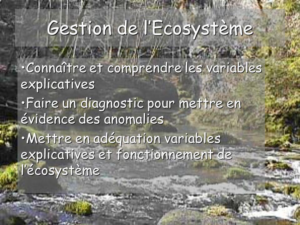 Ecologie et fonctionnement des écosystèmes aquatiques Analyse des données de lEnvironnement G2: Antony Meunier Bénédicte Wommelsdorf Frédérique Batlle