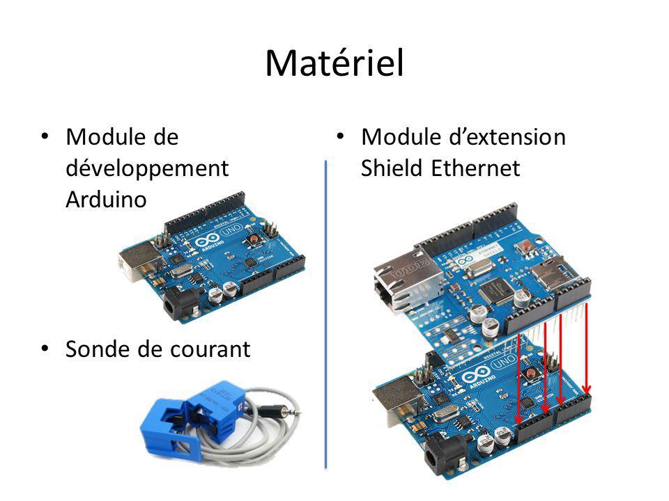 Matériel Module de développement Arduino Sonde de courant Module dextension Shield Ethernet