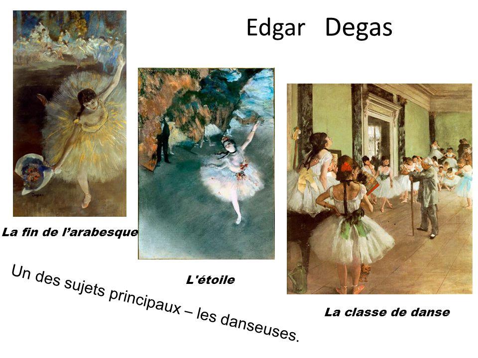 Auguste Dance à Bougival Bal du moulin de la Galette Un des sujets principaux – les femmes, les mouvements.