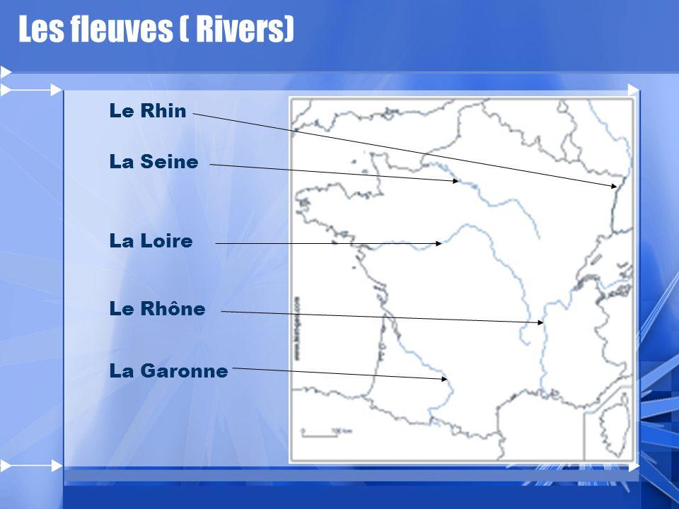 Les fleuves Rivers
