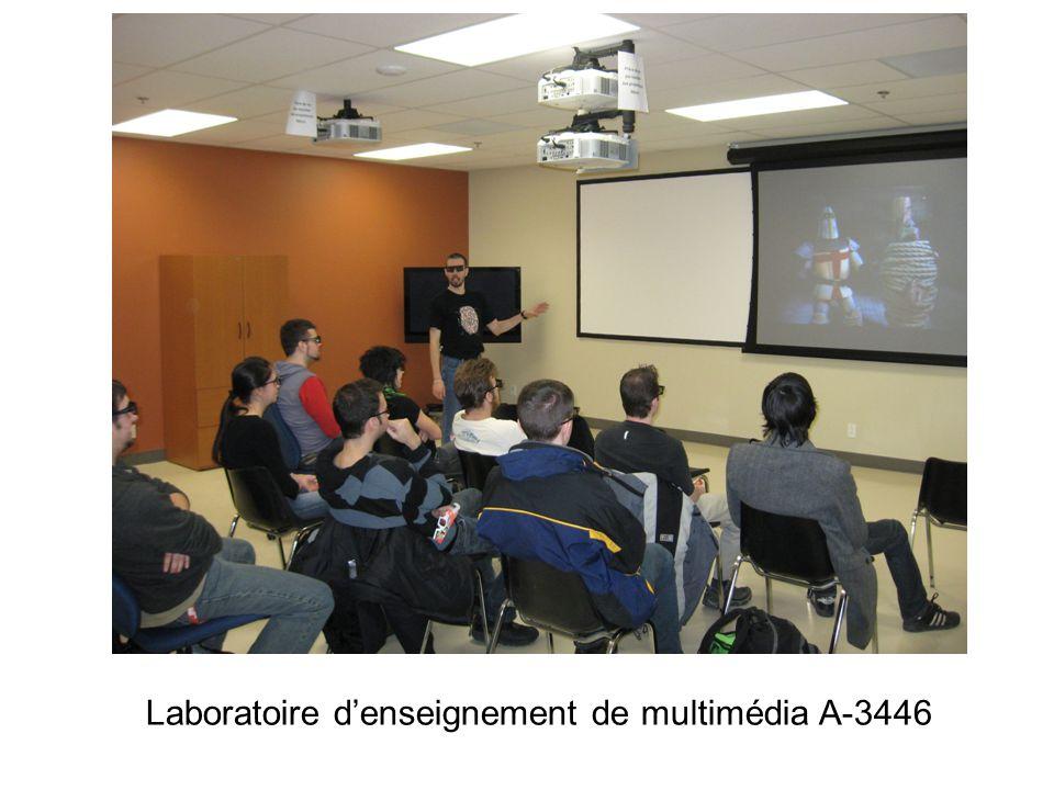 Laboratoire denseignement de multimédia A-3446