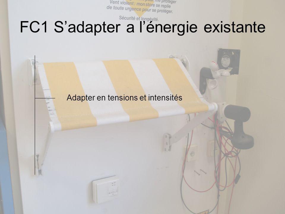 FC1 Sadapter a lénergie existante Adapter en tensions et intensités