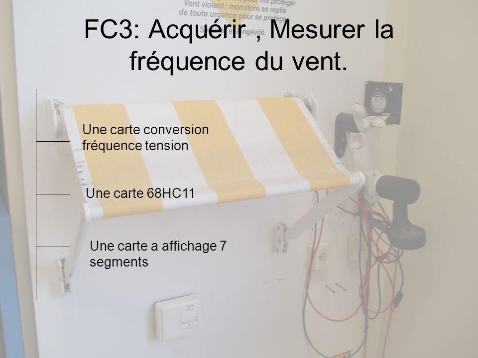 FC3: Acquérir, Mesurer la fréquence du vent.