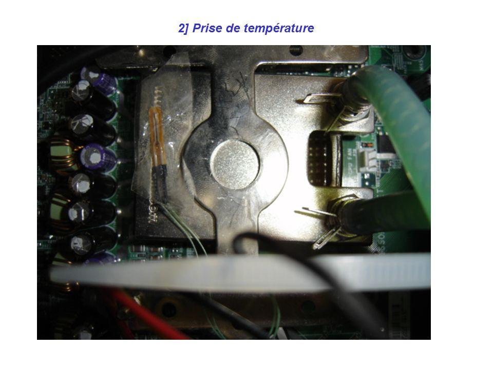 2] Prise de température