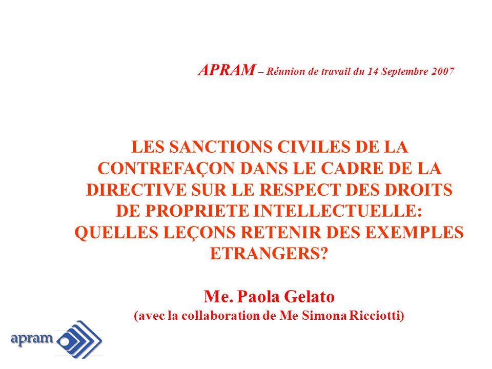 art.144 bis CPI APPLICATION PLUS LARGE DIRECTIVE (art.