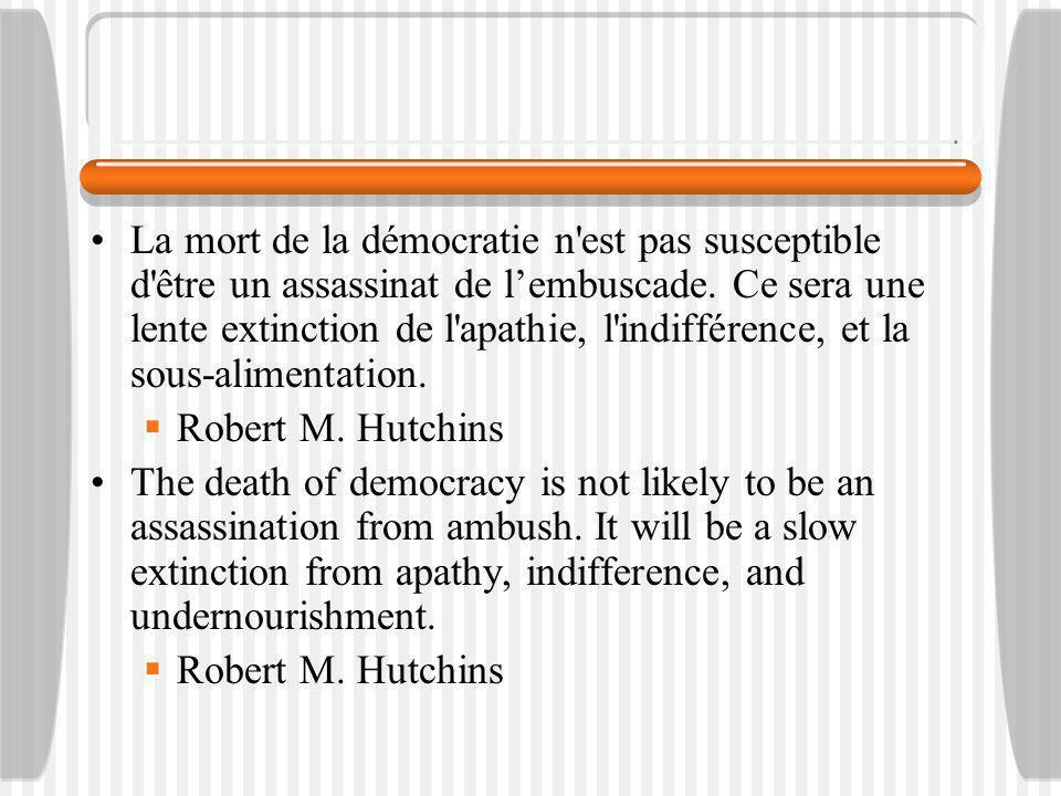 La démocratie est souvent supposé être définie comme «règle de la majorité. Cette hypothèse, cependant, est trompeuse et incomplète.