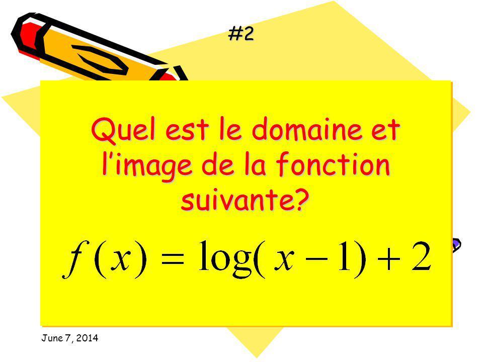 samedi, 7 juin 2014 Quest-ce que le valeur de les deux équations suivantes Quest-ce que le valeur de les deux équations suivantes #1