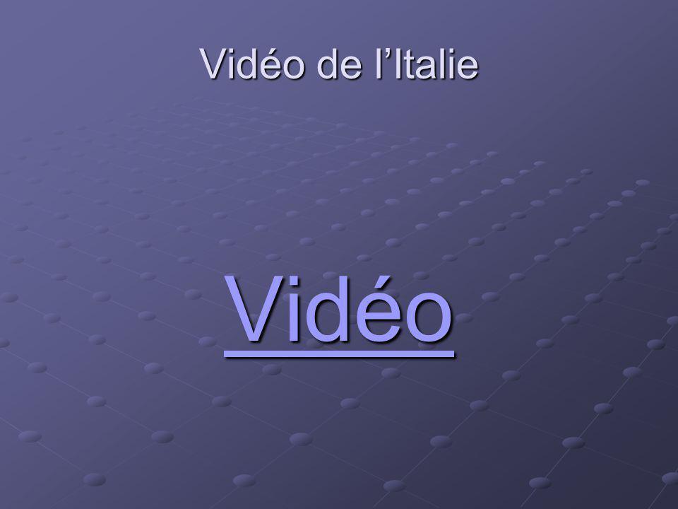 Vidéo de lItalie Vidéo Vidéo